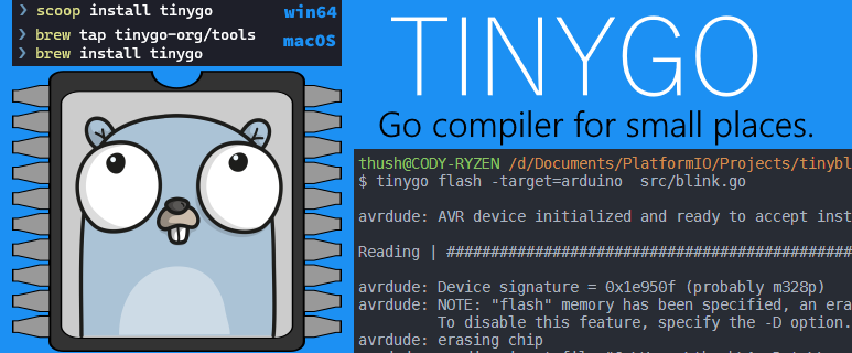 using VSCode (PlatformIO) for an Arduino board.