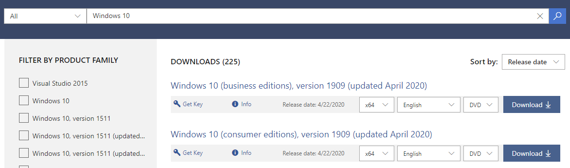 Microsoft just released the April 2020 baked ISO\'s and it\'s the perfect thing to do when you\'re at /home in #iso.