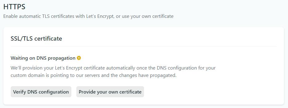 Netlify provisioning SSL Certs via Lets Encrypt